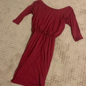 Midi Open Back Dress